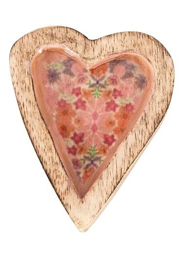 Vitale Dekoratif Kalp Küçük Boy Pembe
